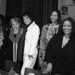 From left: Corinthia Cromwell, Rhonda Robinson, Camay Murphy, Gail Marten, Carla Wills, Maysa Leak, Gabrielle Goodman and Navasha Daya. Photo by Robert Shahid