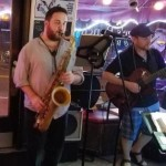 Dan Wallace (sax) with Tom Kitchen